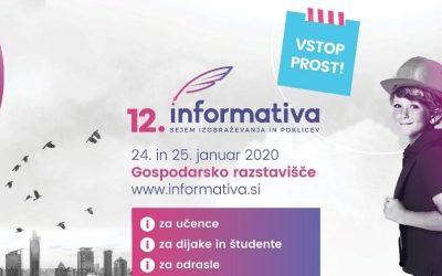 Informativa 2020 – sejem izobraževanja in poklicev