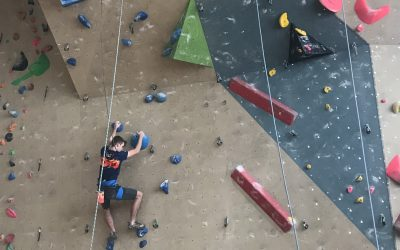 Tekmovanje v športnem plezanju