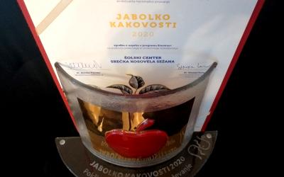Jabolko kakovosti 2020 za ŠCSK