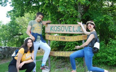 A ste že bili v Kosoveljah? Kaj pa v Volčjem Gradu?